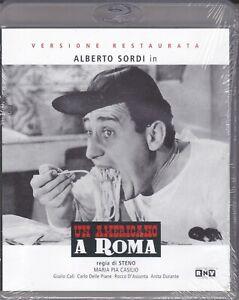 Blu-ray UN AMERICANO A ROMA di Steno con Alberto Sordi nuovo sigillato 1954