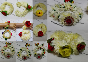Bracelet Bangle Floral Jewellery For Bridal Mehndi and Pre-Wedding