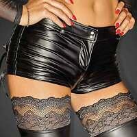 NOIR HANDMADE Selfish Hot Shorts Wetlook Hot Pants Crotch-Zip GO-GO CLUBWEAR