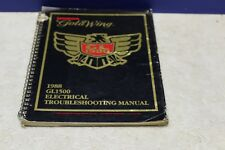 Genuine Honda 1988 Gold Wing GL1500 Electrical Troubleshooting Manual 61MN500
