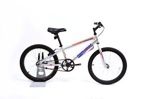 "Novara Duster 20"" Single Speed Kid's Mountain Bike V-Brake Silver Boy's"