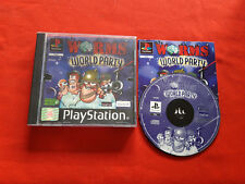 Worms World Party Ps1 PLAYSTATION 1 Sony Pal VF Complete