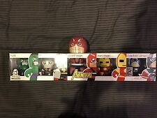 Hasbro SDCC Marvel Avengers Mini Mighty Muggs Hulk Iron Man Thor Captain America