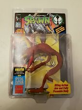 TODD MCFARLANE'S SPAWN SPECIAL EDITION COMIC BOOK & VIOLATOR FIGURE NEW & SEALED