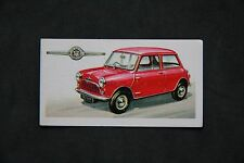 Motor Cars/Bikes UK Issue Collectable Tea Cards