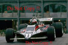 Mario Andretti Team Essex Lotus 81 Monaco Grand Prix 1980 Photograph