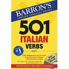 501 Verb Ser.: 501 Italian Verbs : With CD-ROM by Vincent Luciani, John...