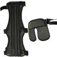 Archery Arm Guard Finger Outdoor Training Practice Recurve Accessories