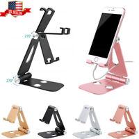 Adjustable Cell Phone Tablet Stand Desktop Holder Cradle Dock For iPad iPhone