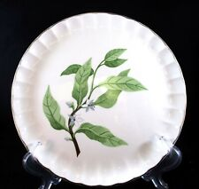 "PRE-OWNED ""BOLERO-GREEN LEAVES"" DINNER PLATE BY W.S. GEORGE 10 INCHES"