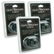 3 x TRIGGER LOCK GUN AIR RIFLE HUNTING SHOOTING SAFETY TRIGGER LOCK
