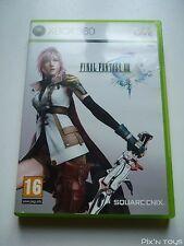 MICROSOFT XBOX 360 / Jeu FFXIII Final Fantasy 13 [ Version PAL FR ]