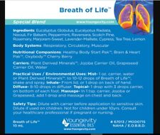 Plan1x Breath of Life Essential Oil Blend 10ml by Youngevity Free Shipping