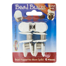Bead Buddy Bead Bugs Bead Clamp Stopper Tool 2.5cm Pack of 6 (H105/4)