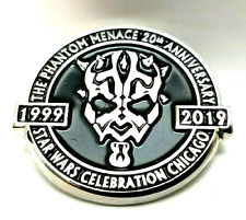 Star Wars Celebration 2019 Phantom Menace 20th Anniversary Pin (Limited to 1138)