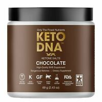 Keto DNA Chocolate Exogenous Ketone Supplement | BHB Salts for Ketosis | Beta...