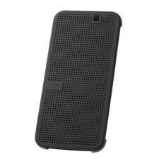 Original HTC Dot View Book Case Etui Tasche Hülle HC M231 Onyx Schwarz f. One M9
