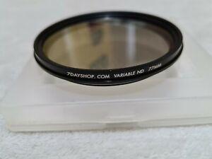7dayshop Lens Filter - Variable ND (Neutral Density)