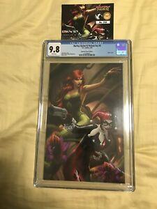 Harley Quinn and Poison Ivy #3 CGC 9.8 Ejikure Virgin Variant NM W/COA