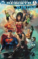 Justice League Rebirth (2016) #1 Most Good Hobby Eric Basaldua Variant