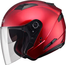 GMAX OF77 OPEN FACE HELMET 3XL (CANDY RED)