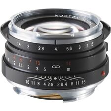 NEW Voigtlander Nokton Classic 40mm f/1.4 MC Lens Leica M Mount 45BA246B USA