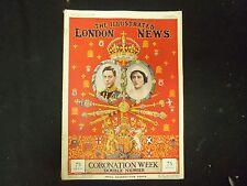 1937 MAY 8 THE ILLUSTRATED LONDON NEWS MAGAZINE - CORONATION WEEK - ST 4161