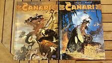 RARE 2 BD - CANARI - Collection série complète INTEGRALE - EO - 1ère EDITION