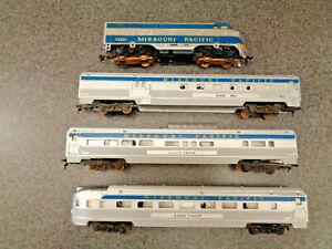 Amer. Flyer / A.C. Gilbert HO 1963 #30742 The Eagle  Passenger Train Set Ex.Plus