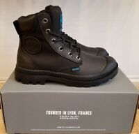 NEW IN THE BOX PALLADIUM PAMPA SPORT CUFF WPN 73234-001 BLACK  FOR WOMEN