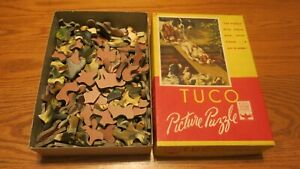 VINTAGE TUCO PICTURE PUZZLE - 1940's