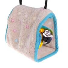 Chic Winter Warm Bird Nest House Hut Cage For Parrot Macaw Parakeet Small Birds