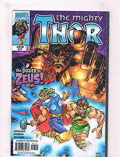 The Mighty Thor #7 NM Marvel Comics Comic Book Jurgens Avengers Jan DE32 CH18