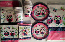 OWL PAL - Birthday Party Supply DELUXE Kit w/ Loot Bags & Invitations
