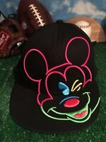 Disney Rare Mickey Mouse Snap back adjustable hat cap H41
