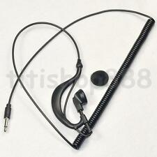 3.5mm Jack Listen Only Earpiece Headset For Radio Shoulder Speaker Mic Motorola