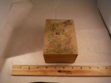 "Antique Lador Children's ""Twinkle,Twinkle & Little Jack Horner"" Music Box"