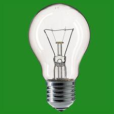 10x 15W Clear GLS Light Bulb Slumber All Night Lamp ES E27 Edison Screw Globe