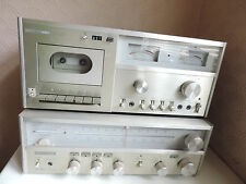 Harman&Kardon HK450 Vintage DC Receiver and HK2500 Cassette Player -Untested