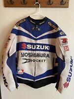 Joe Rocket GSX-R Suzuki Team Yoshimura Mat Mladin 2X Motorcycle Jacket W/ Armor