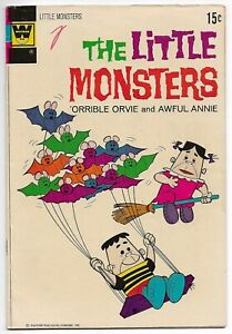 The Little Monsters #17 (Whitman, 1972) – 'Orrible Orvie & Awful Annie – VG/FN