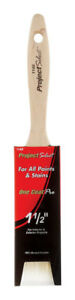 Linzer 0150 Project Select One Coat Pro 1140 Varnish Brush, 1-1/2 in Width, Chis
