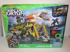 Ninja Turtles Out of the Shadows MEGA BLOKS Set Battle Truck Movie TMNT Mikey