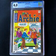 "Archie #271 (1978) 💥 CGC 4.0 White Pgs 💥 ""Pearl Necklace"" Innuendo Cover Comic"