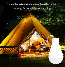 5W Portable Solar Powered LED Bulb Light Outdoor Camp Tent Yard Lamp Outdoor*1