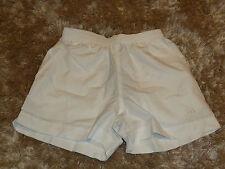 "Boys adidas white Tennis shorts - UK 24"" waist (A9)"
