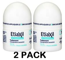 ETIAXIL Roll-On Antiperspirant SENSITIVE Skin, 15ml [2 PACK]