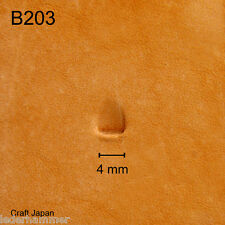 Punziereisen, Lederstempel, Punzierstempel, Leather Stamp, B203 - Craft Japan