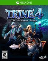 TRINE 4: The Nightmare Prince [Microsoft Xbox One, Puzzle, Fantasy, NTSC] New