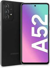 SAMSUNG GALAXY A52 BLACK  4G/LTE 128GB ROM 6GB RAM DUAL SIM DISPLAY 6.5